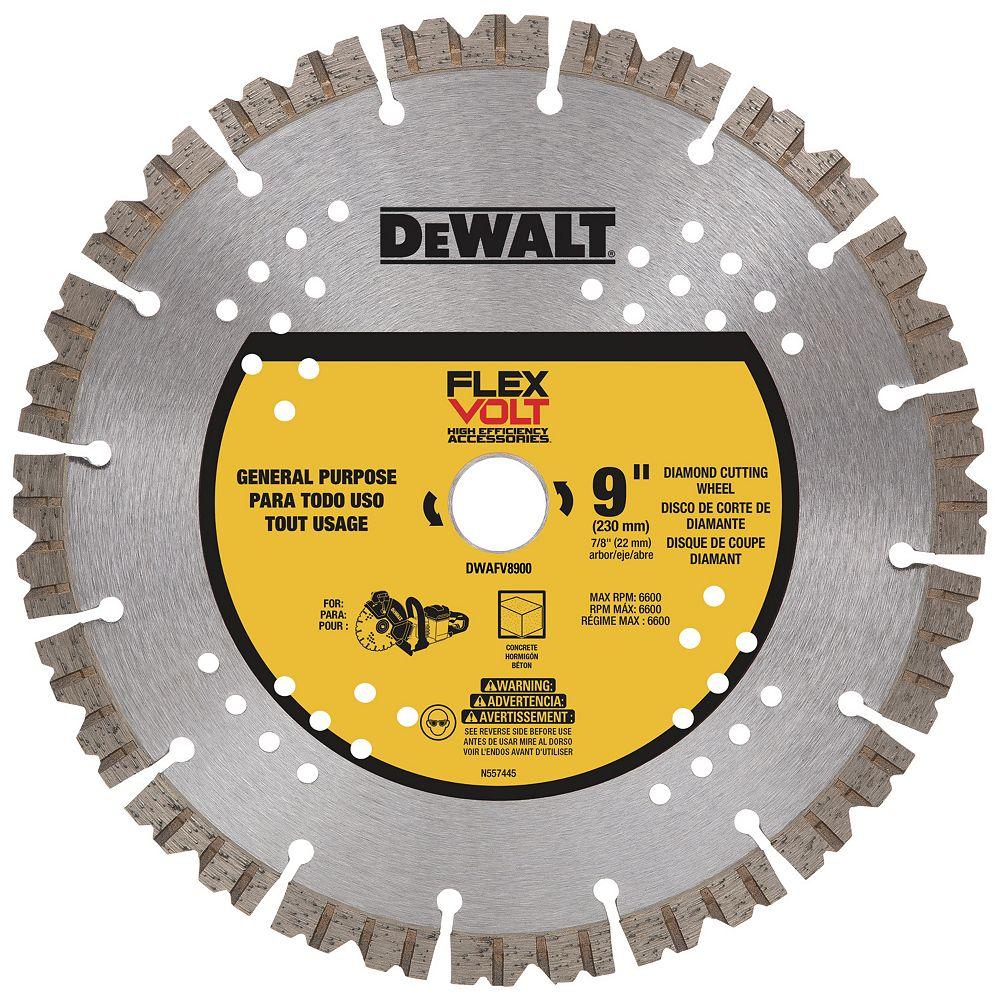 Dewalt SEG DIAMOND BLADE 9-inch X 7/8-inch (DWAFV8900)