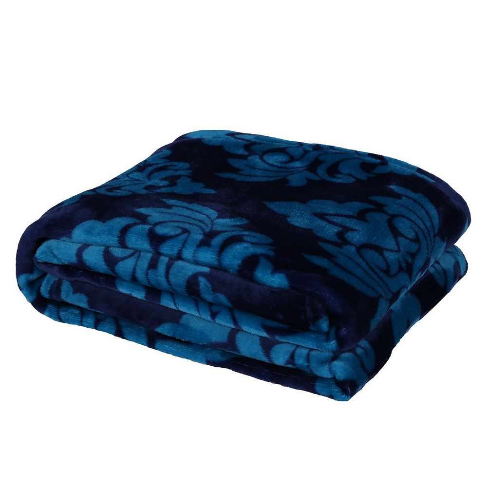 """Long Rich Otho Printed light wiehgt soft Flannel Throw/blanket, 50""""x70"""""""