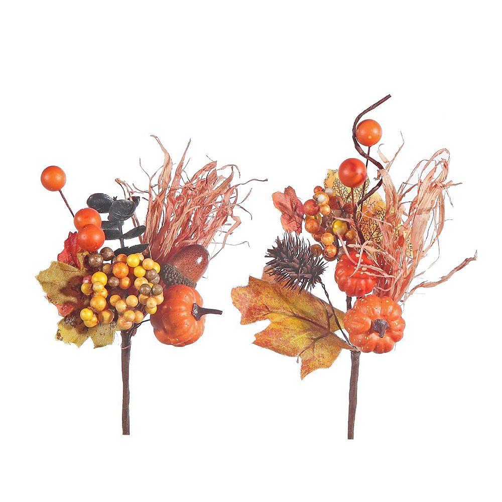 IH Casa Decor Pumpkin Harvest Pick (Asstd)