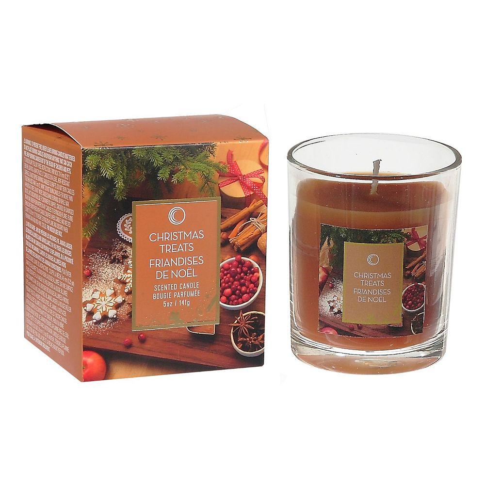 IH Casa Decor 5 Oz Jar Candle In Gift Box (Christmas Treats)