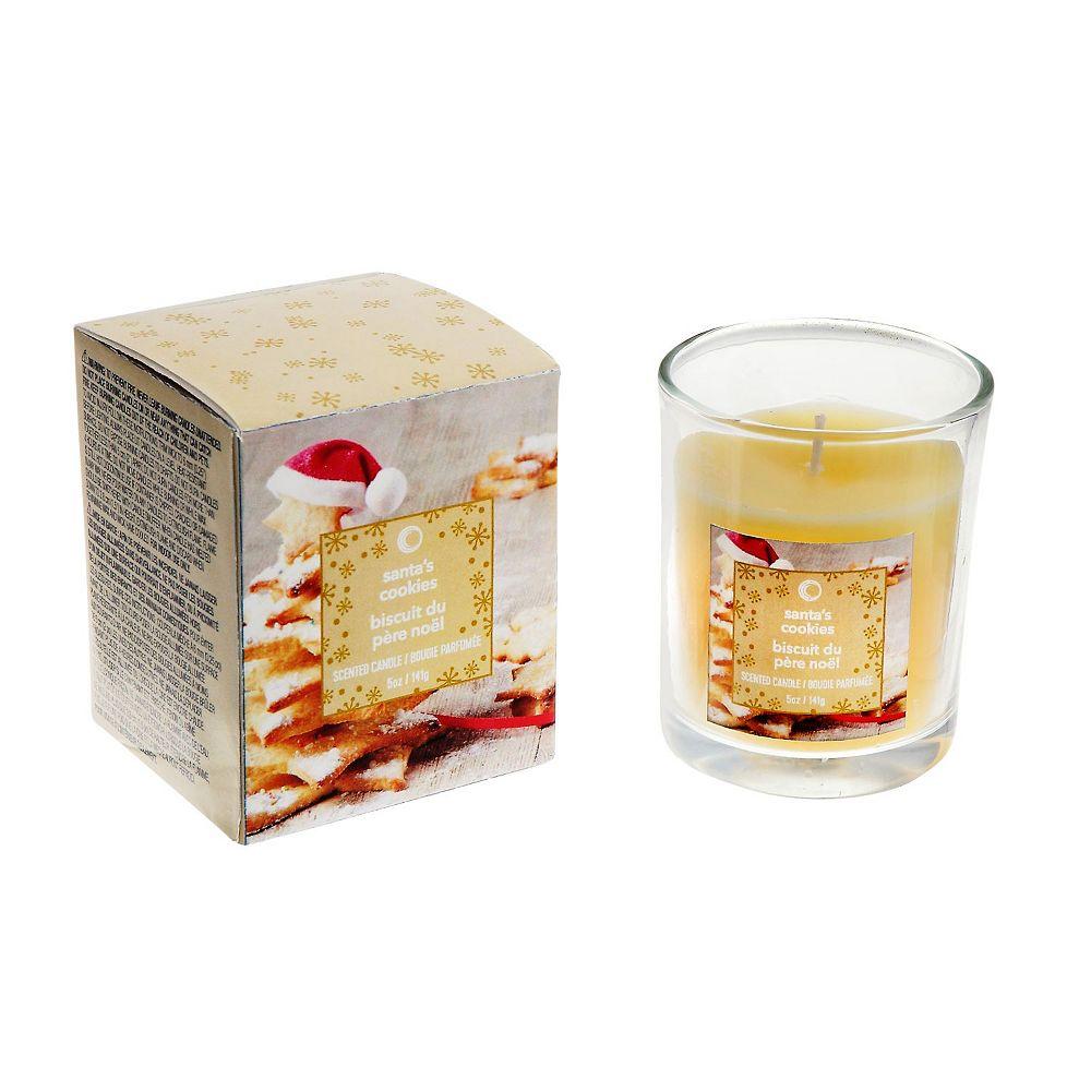 IH Casa Decor 5 Oz Jar Candle In Gift Box (Santa'S Cookies)