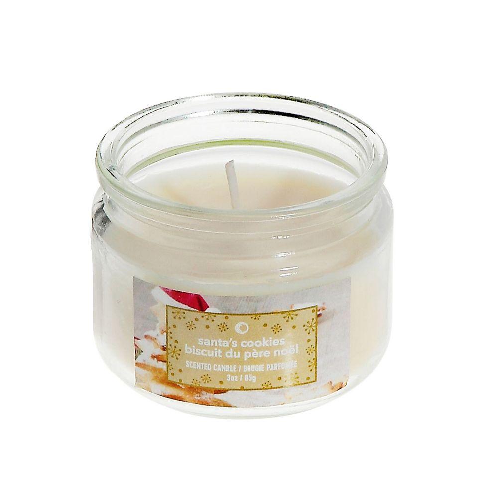 IH Casa Decor 3 Oz Scented Jar Candle (Santa'S Cookies)