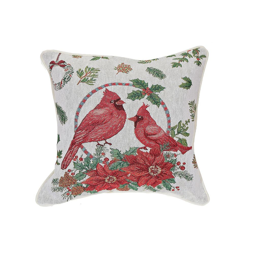 IH Casa Decor Tapestry Cushion (Double Cardinal Wreath)