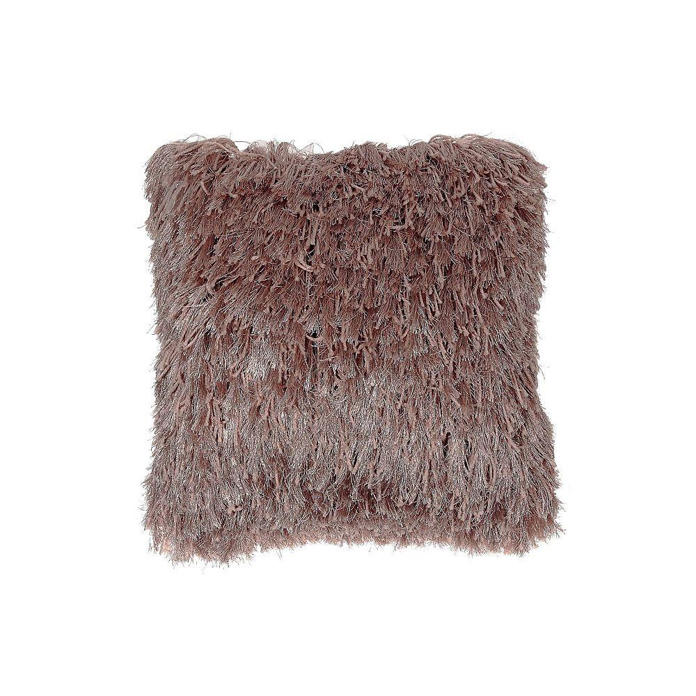 IH Casa Decor Furry Cushion (Blush)