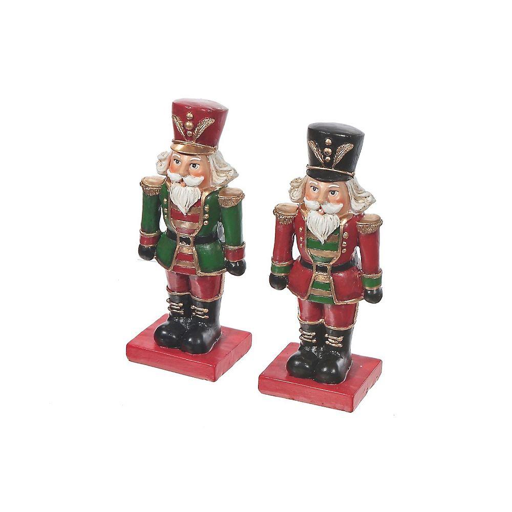 IH Casa Decor Polyresin Standing Nutcracker Figurine (Asstd)