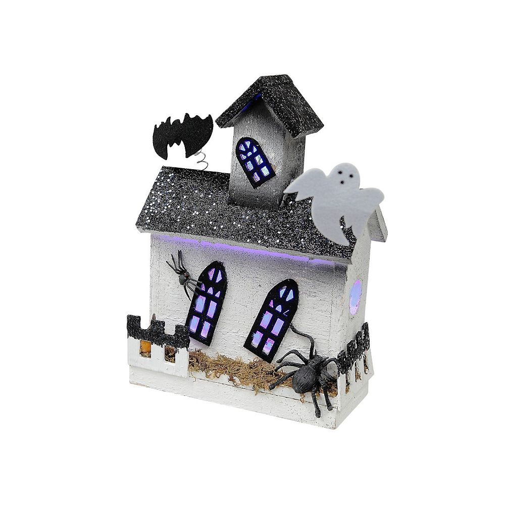 IH Casa Decor Led Haunted Rectangular House With Attic