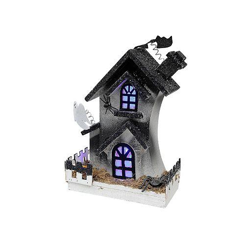 Led Haunted 3-Story House