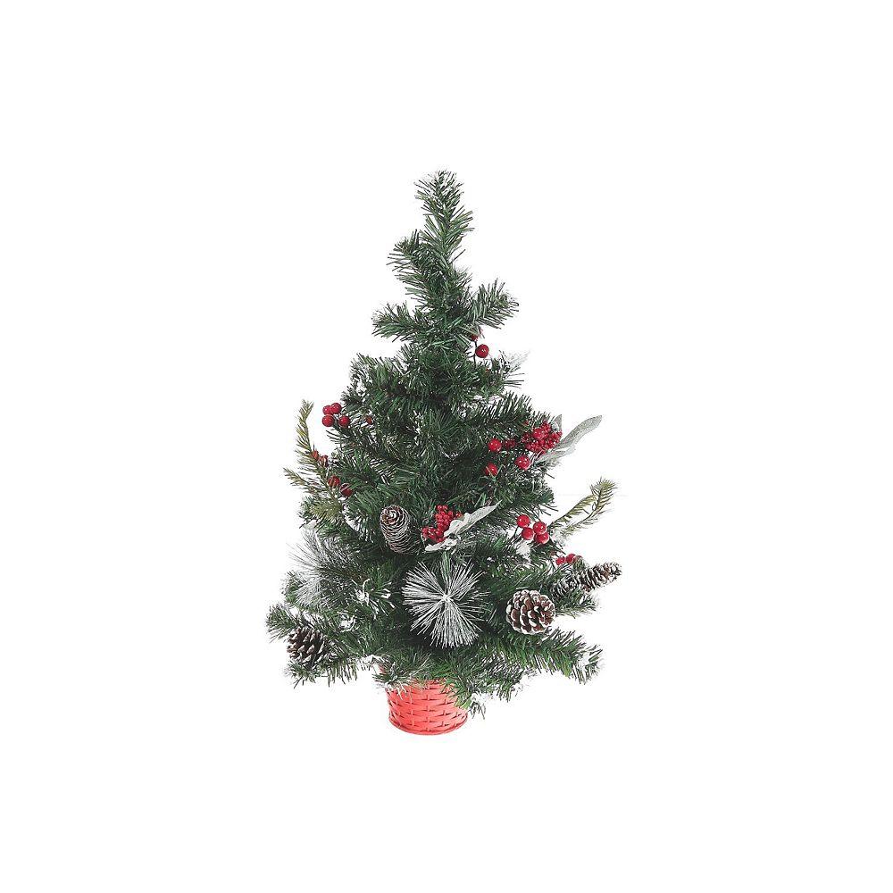 IH Casa Decor Pine And Berry tabletop Tree