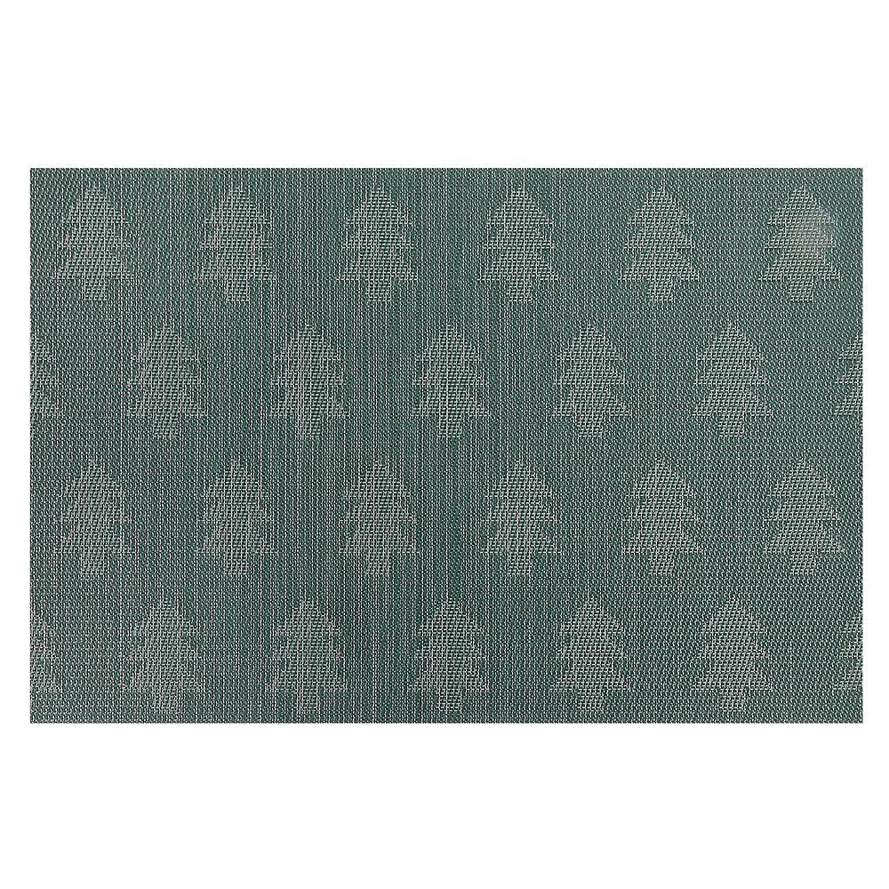 IH Casa Decor Vinyl Placemat (Tree) (Green)