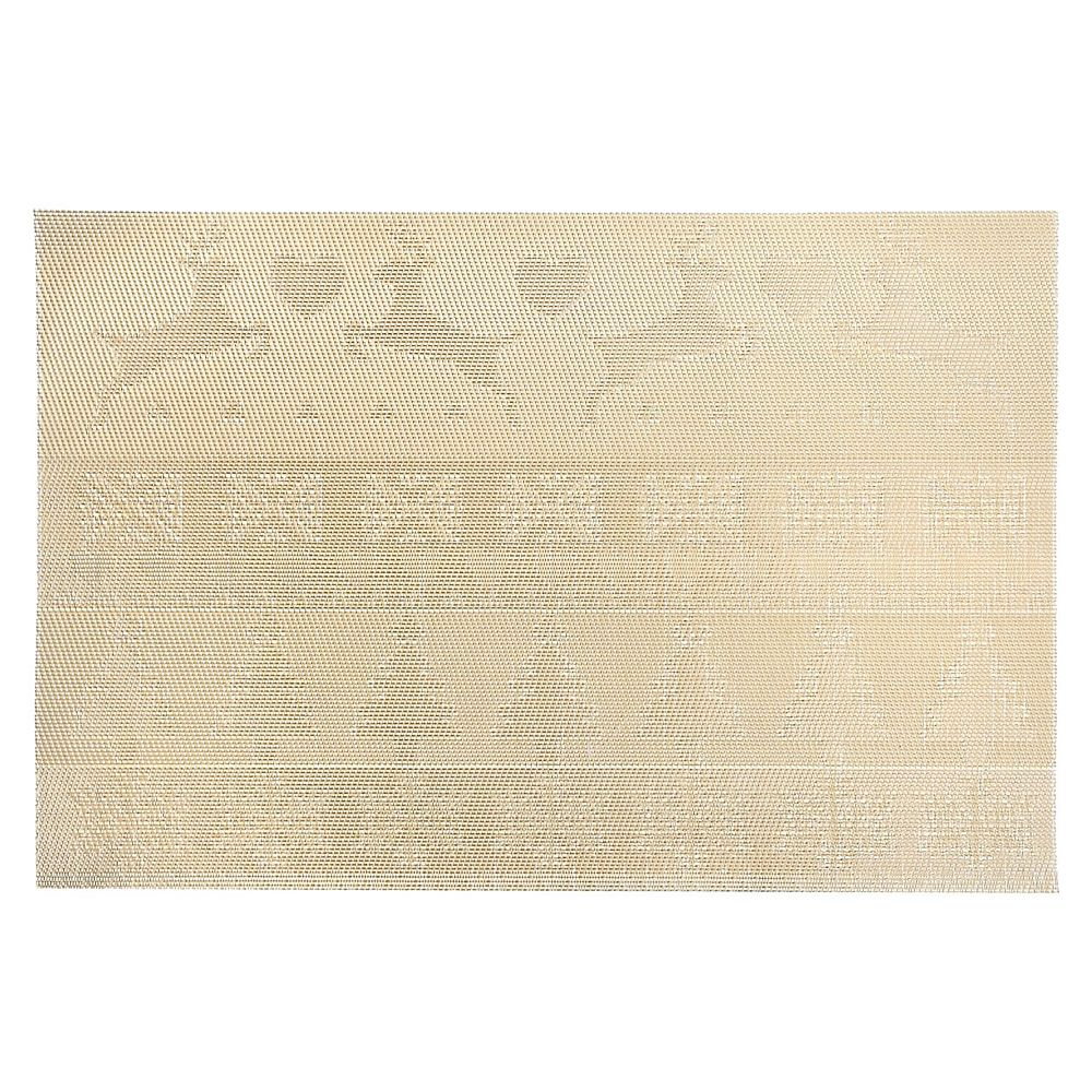 IH Casa Decor Vinyl Placemat (Reindeer And Tree) (Gold)