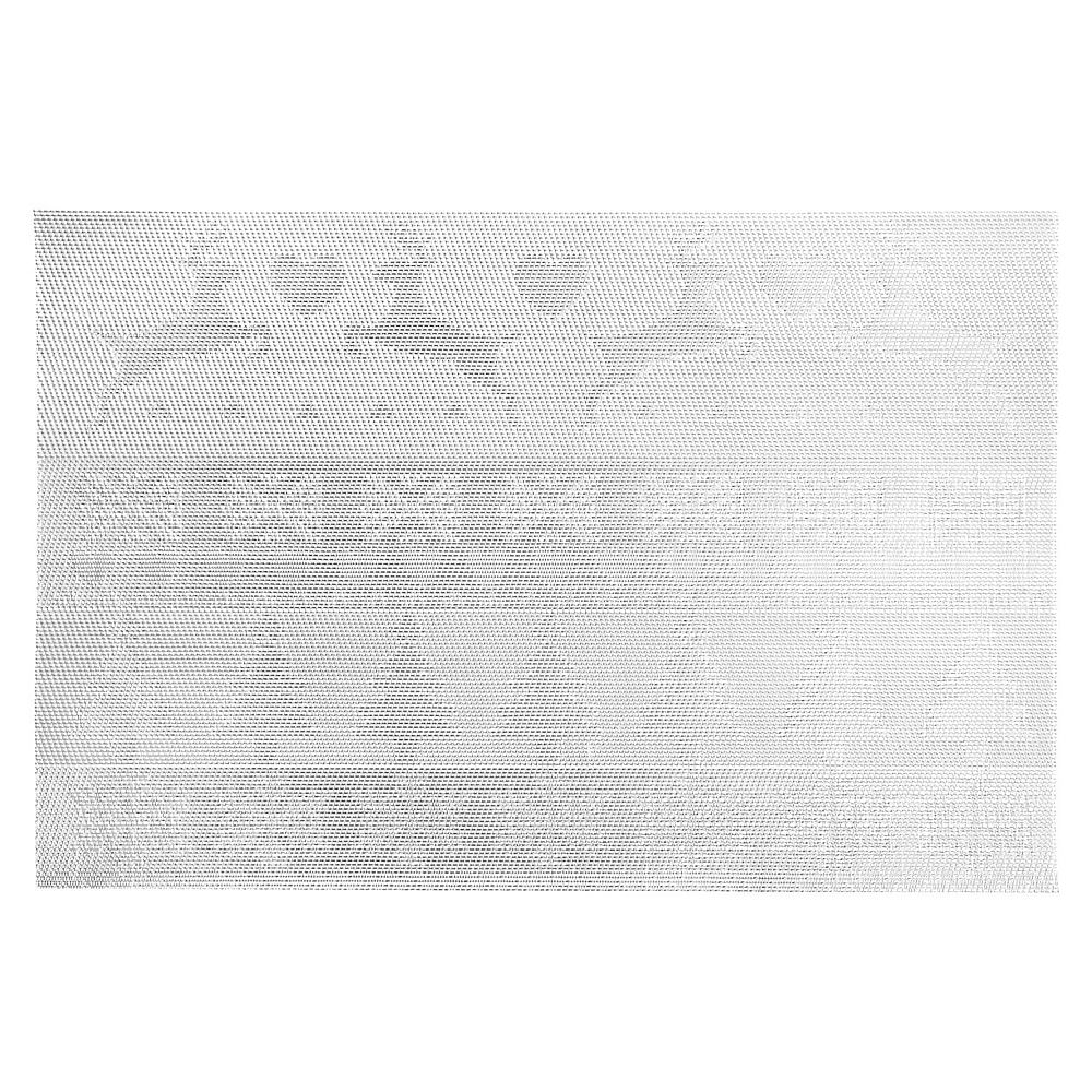 IH Casa Decor Vinyl Placemat (Reindeer And Tree) (Silver)