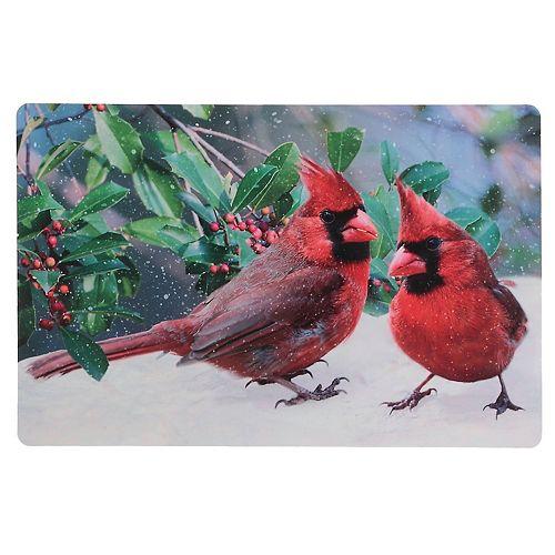 Plastic Placemat (Double Cardinal)