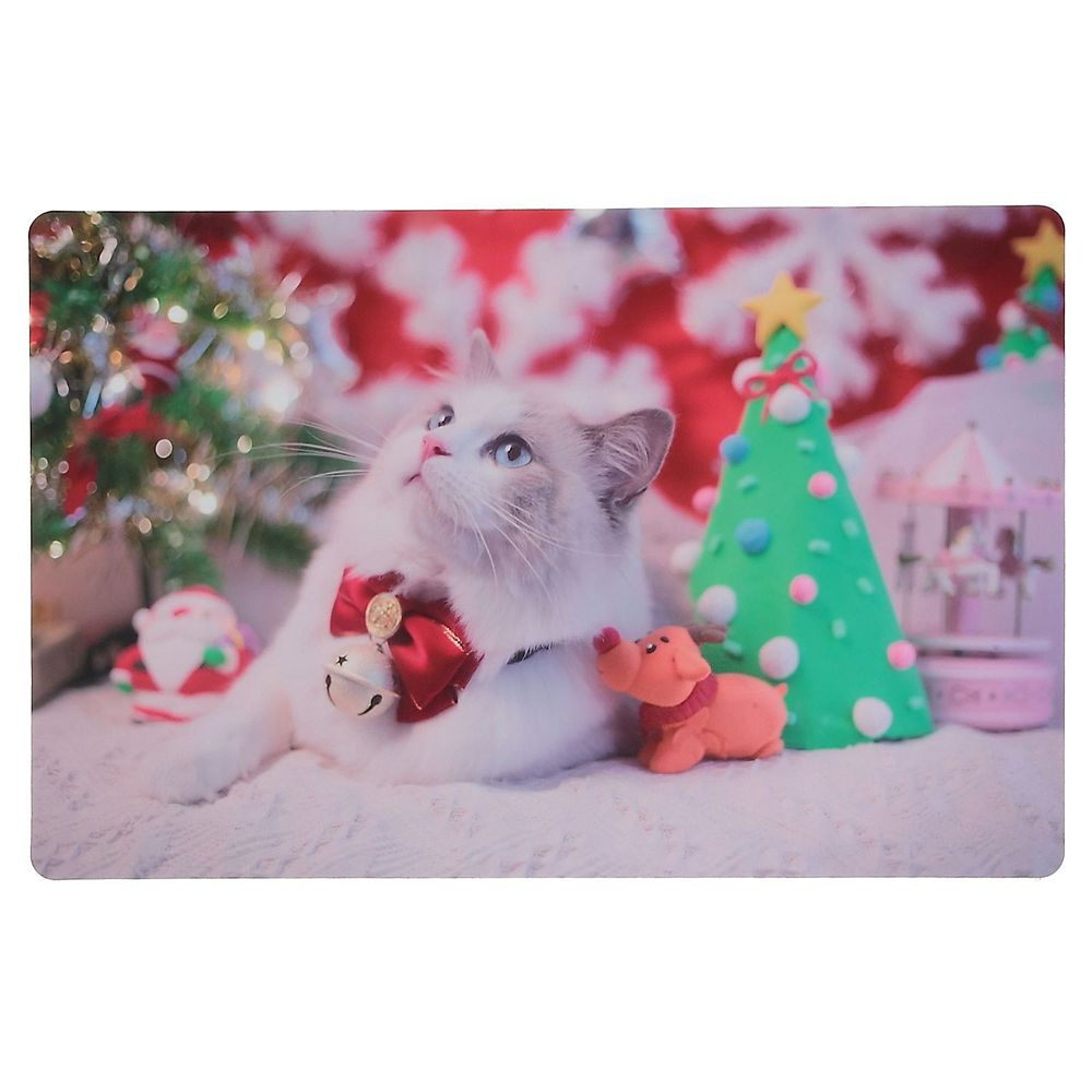 IH Casa Decor Plastic Placemat (Catty Christmas)