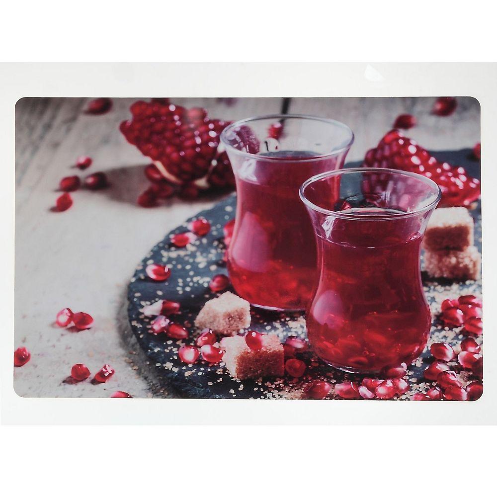 IH Casa Decor Plastic Placemat (Festive Pomegranate)