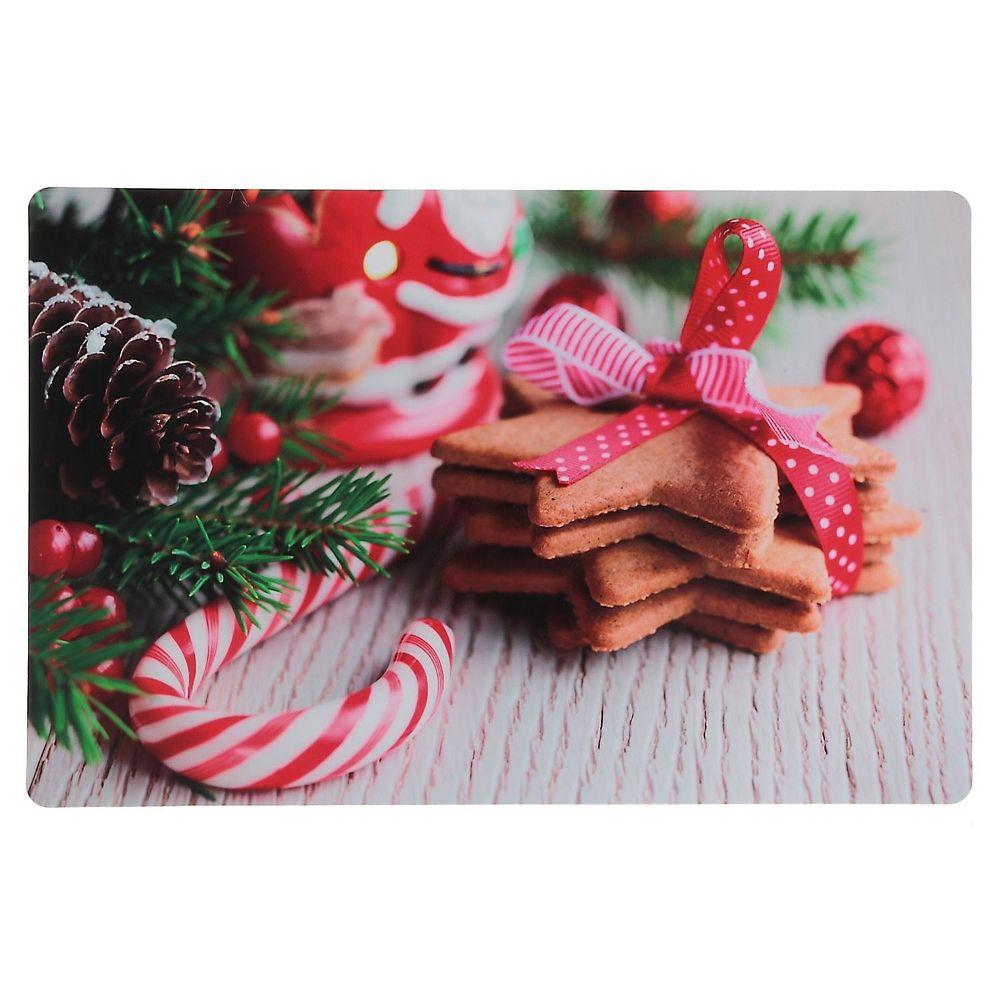 IH Casa Decor Plastic Placemat (Gingerbread Cookies)