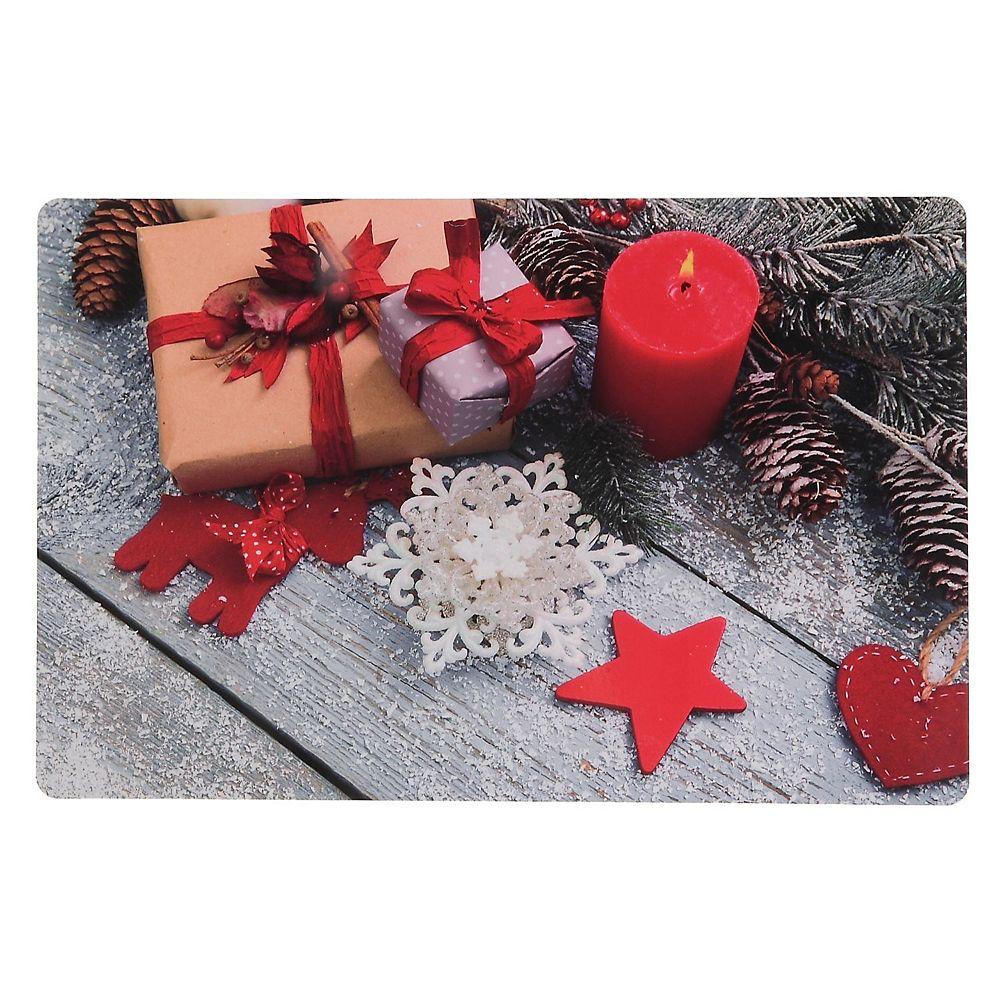 IH Casa Decor Plastic Placemat (Presents And Ornaments)