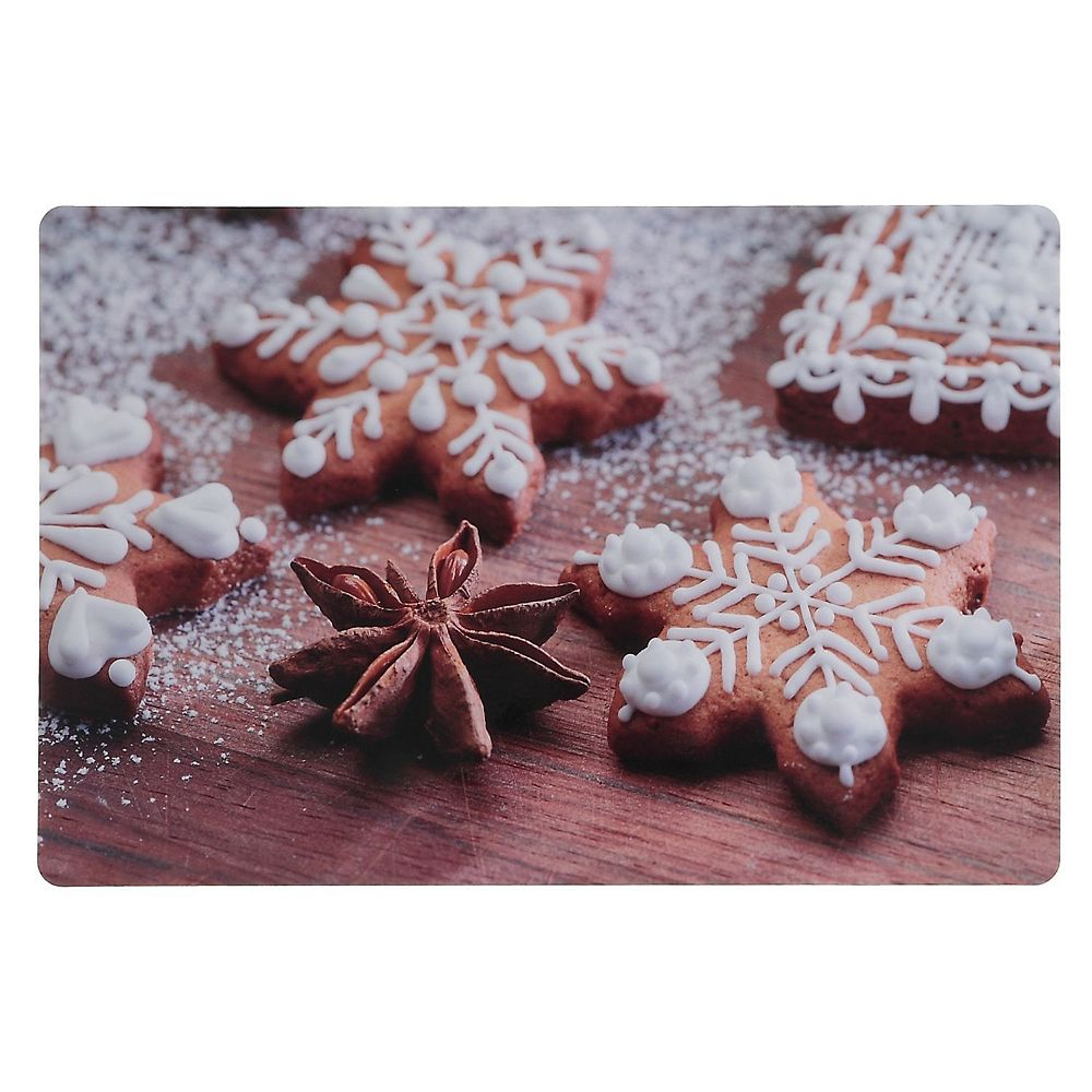 IH Casa Decor Plastic Placemat (Spiced Gingerbread)
