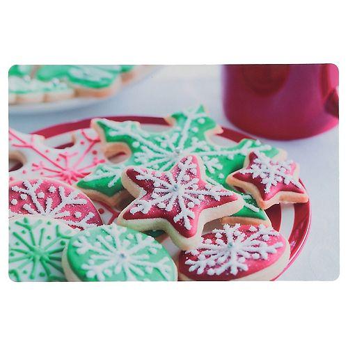 Plastic Placemat (Vanilla Sugar Cookies)