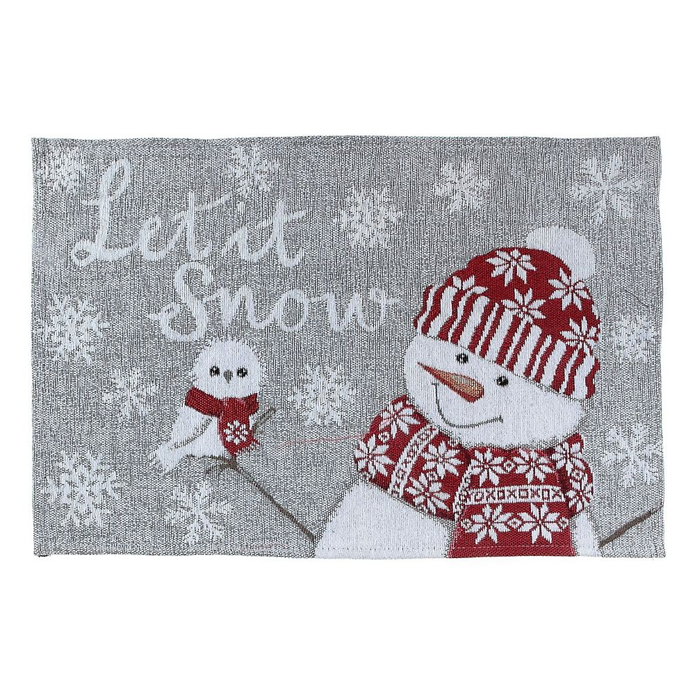 IH Casa Decor Tapestry Unbacked Placemat (Let It Snow)