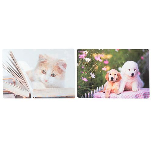 Pp Reversible Placemat (Cat And Dog)