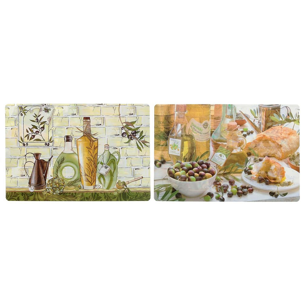 IH Casa Decor Pp Reversible Placemat (Olives)