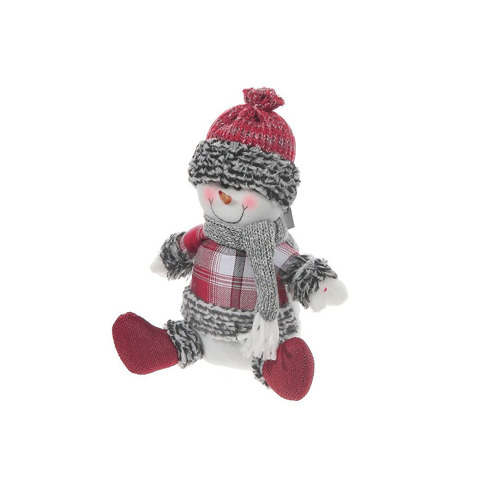IH Casa Decor Frosty Toes Snowman Sitter