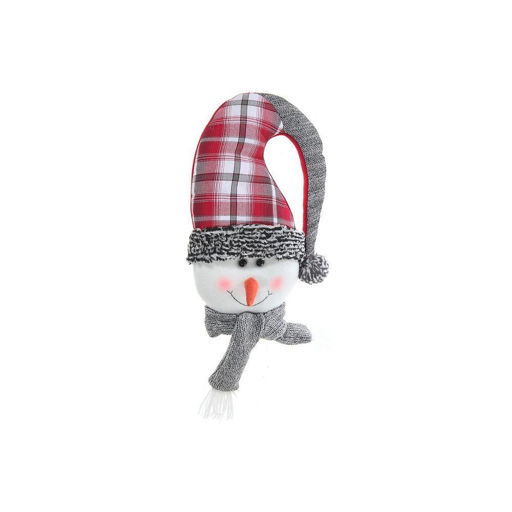 IH Casa Decor Frosty Toes Snowman Door Hanger