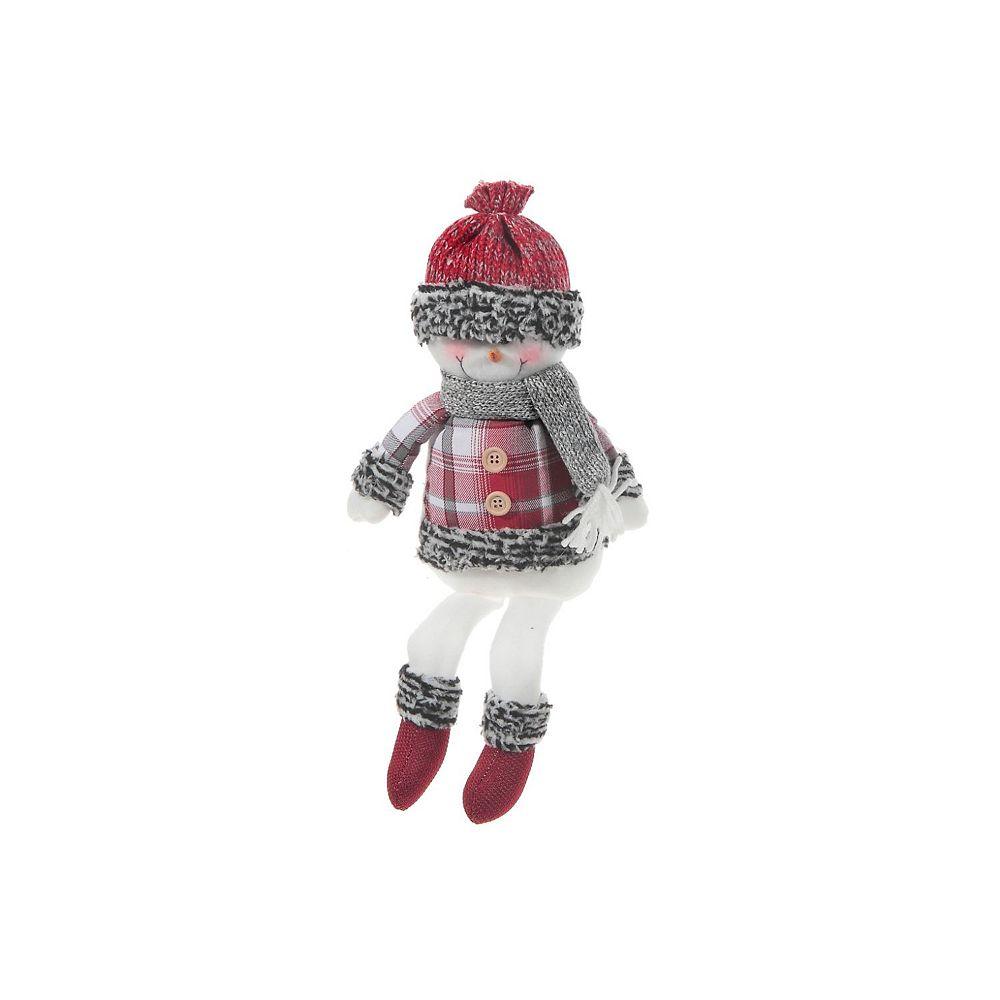IH Casa Decor Frosty Toes Snowman Shelf Sitter