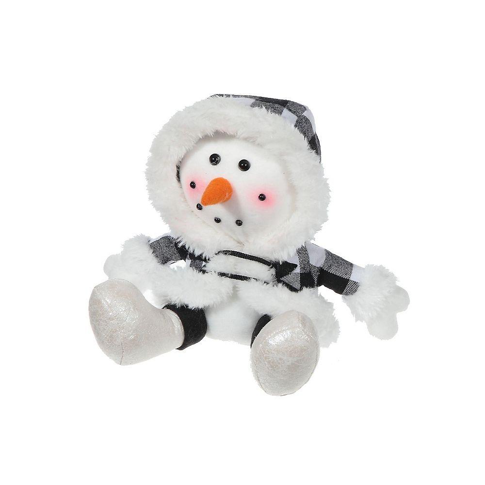 IH Casa Decor Merry The Snowman Plush Sitter