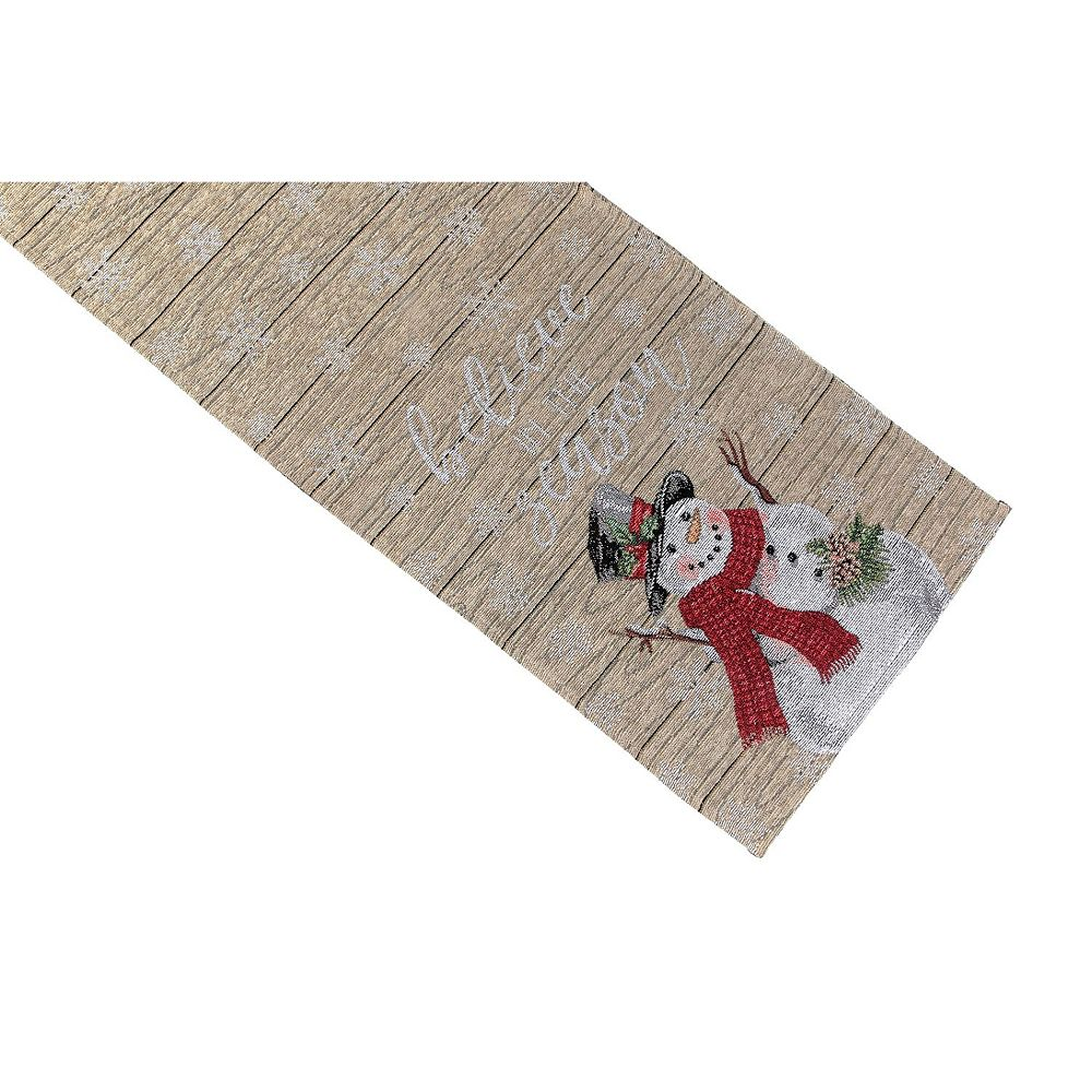 IH Casa Decor Tapestry Table Runner (Square End) (Believe Season)