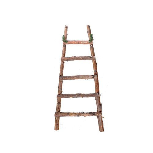Wooden Ladder Decoration