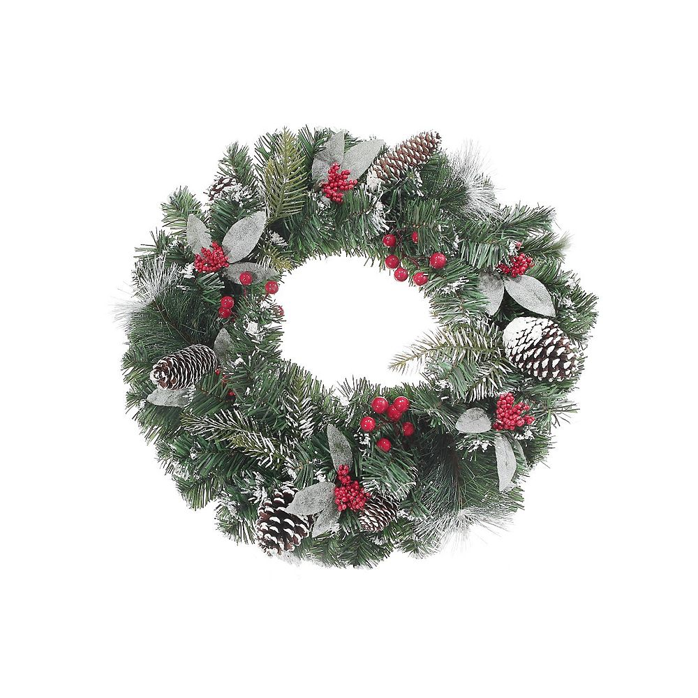 IH Casa Decor Pine And Berry Wreath