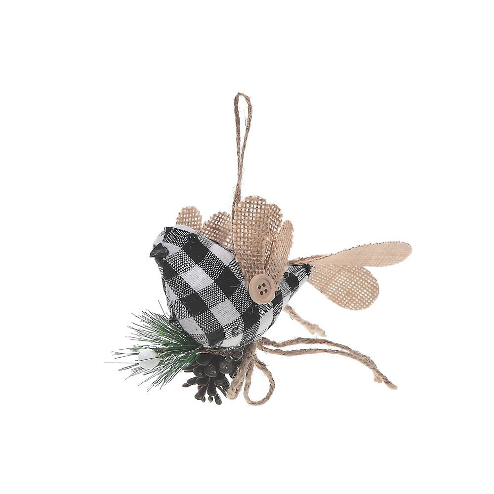 IH Casa Decor White Buffalo Ornament (Bird)