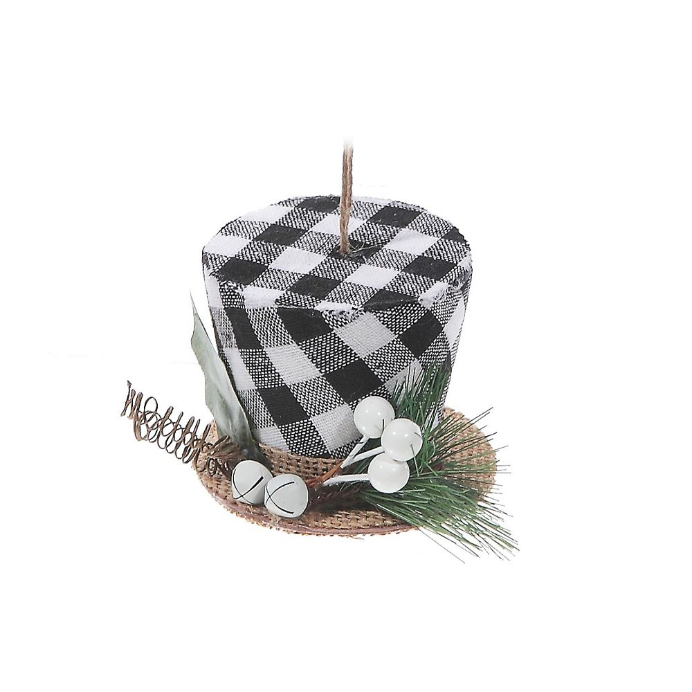 IH Casa Decor White Buffalo Ornament (Hat)