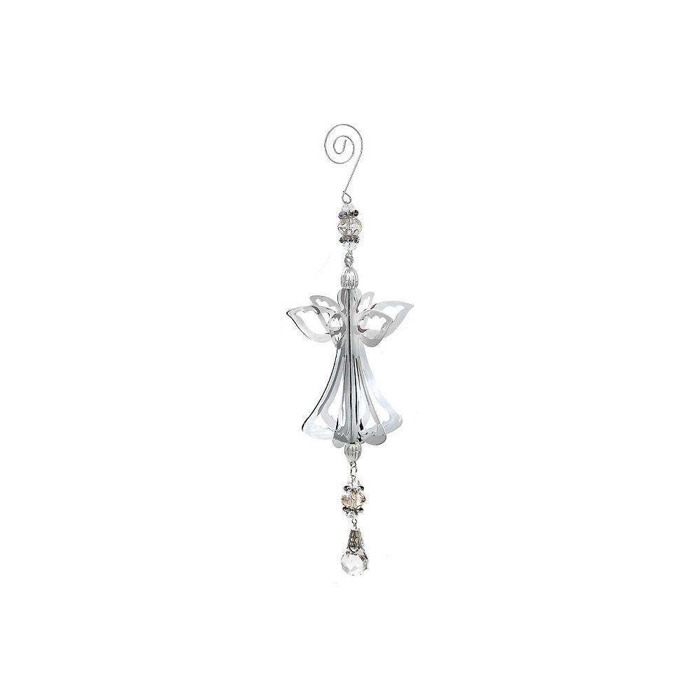 IH Casa Decor 3D Silver Metal Ornament (Angel)