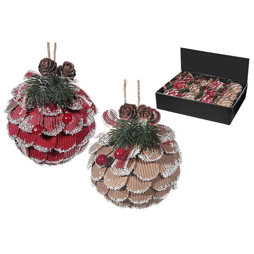 IH Casa Decor Foam Pinecone Ornament (Asstd)