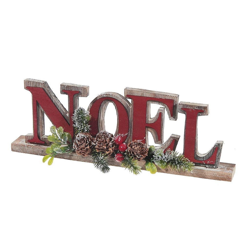 IH Casa Decor Wooden Table Stand (Red Noel)