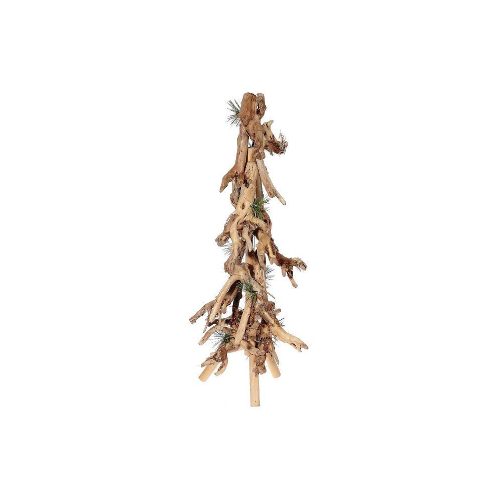 IH Casa Decor Led Cotton Root And Pine Needle Tree