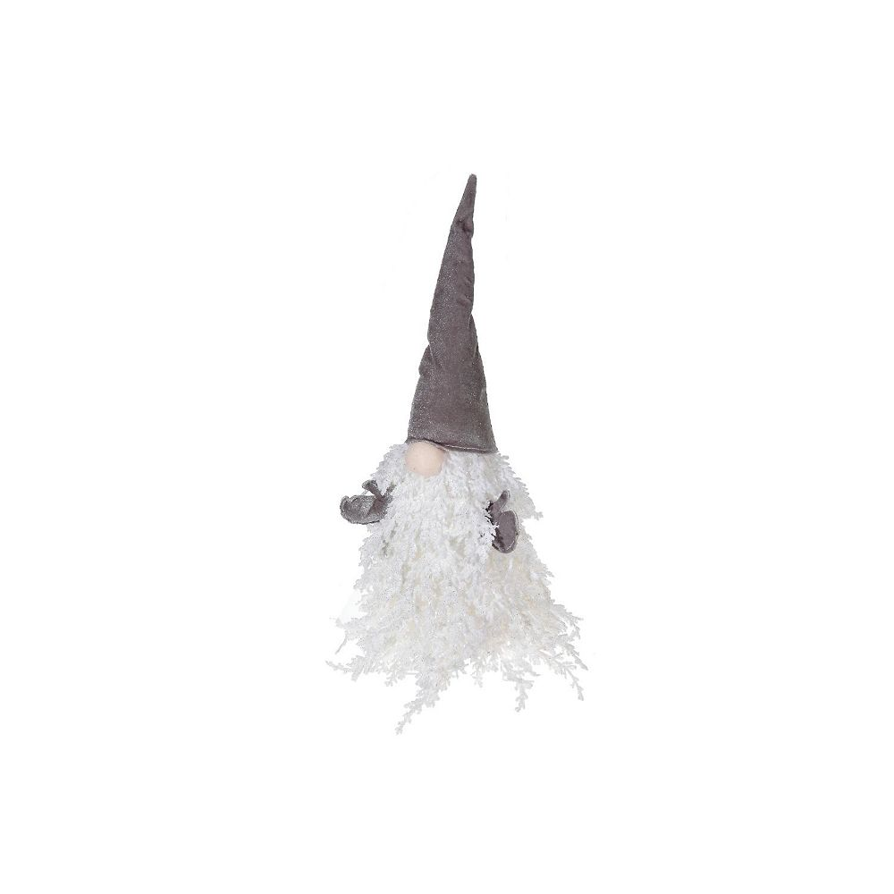 IH Casa Decor White Glitter Tree Gray Gnome (Large)