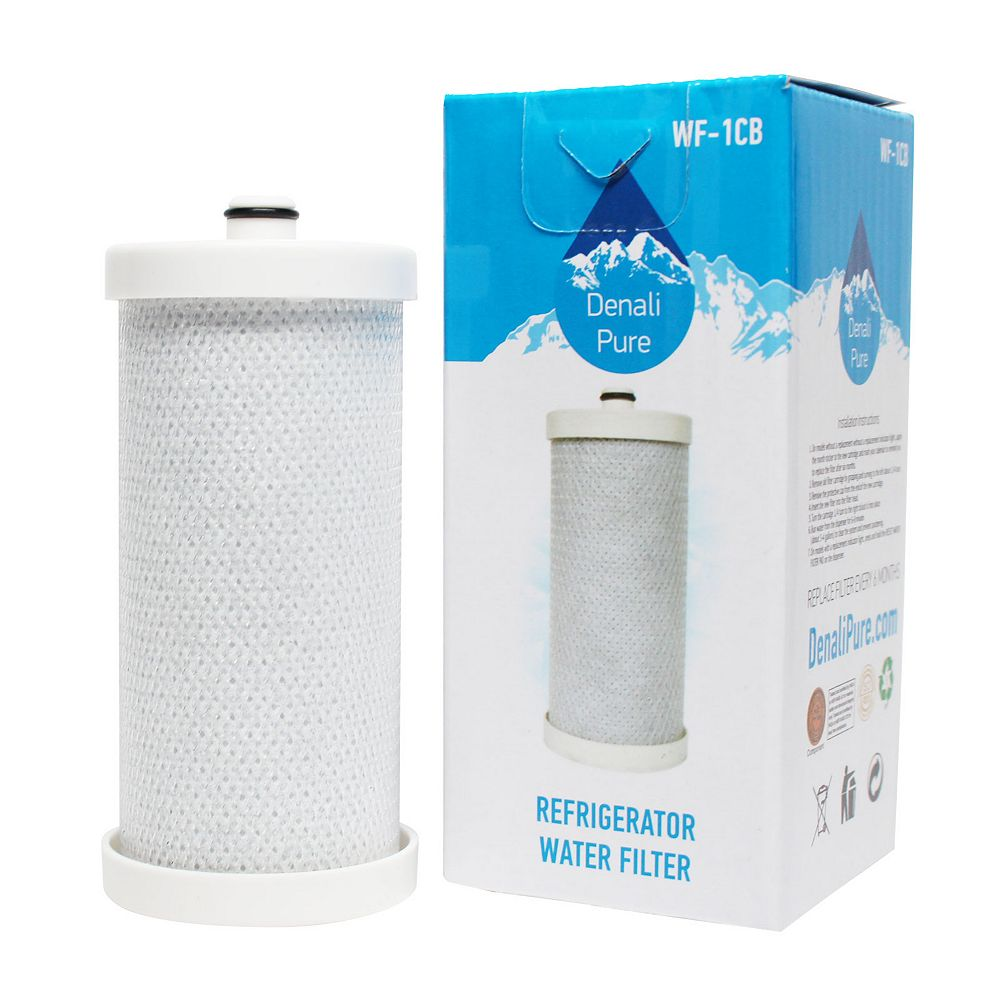 Denali Pure 3-Pack Compatible 1CB Water Filter Replacement for Frigidaire, Kenmore, Sears  Refrigerators