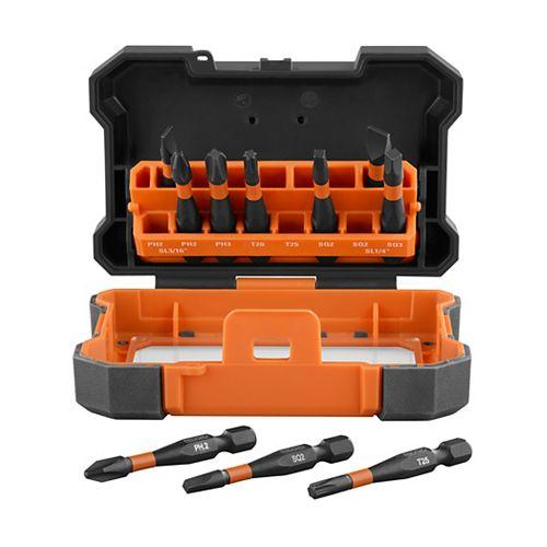 Impact Driving Bit Kit (10-piece)