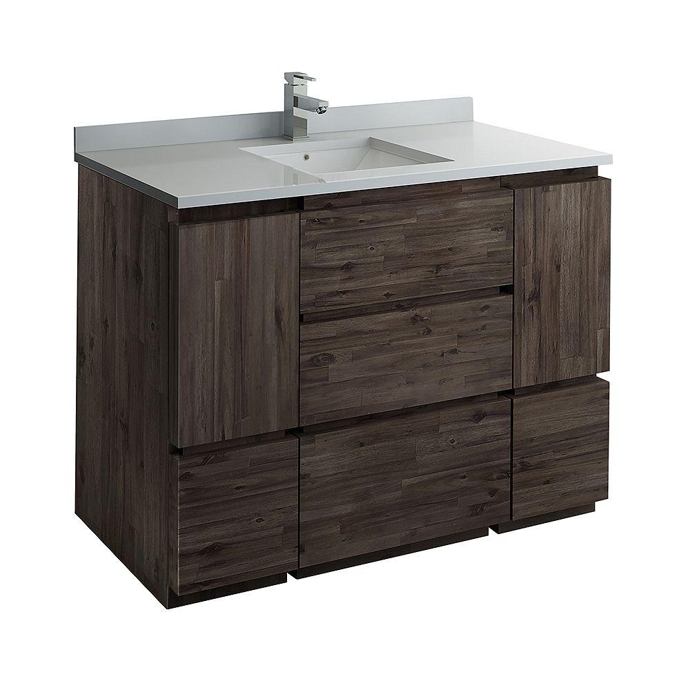 Fresca Formosa 47 inch Freestanding Bathroom Vanity Only in Acacia