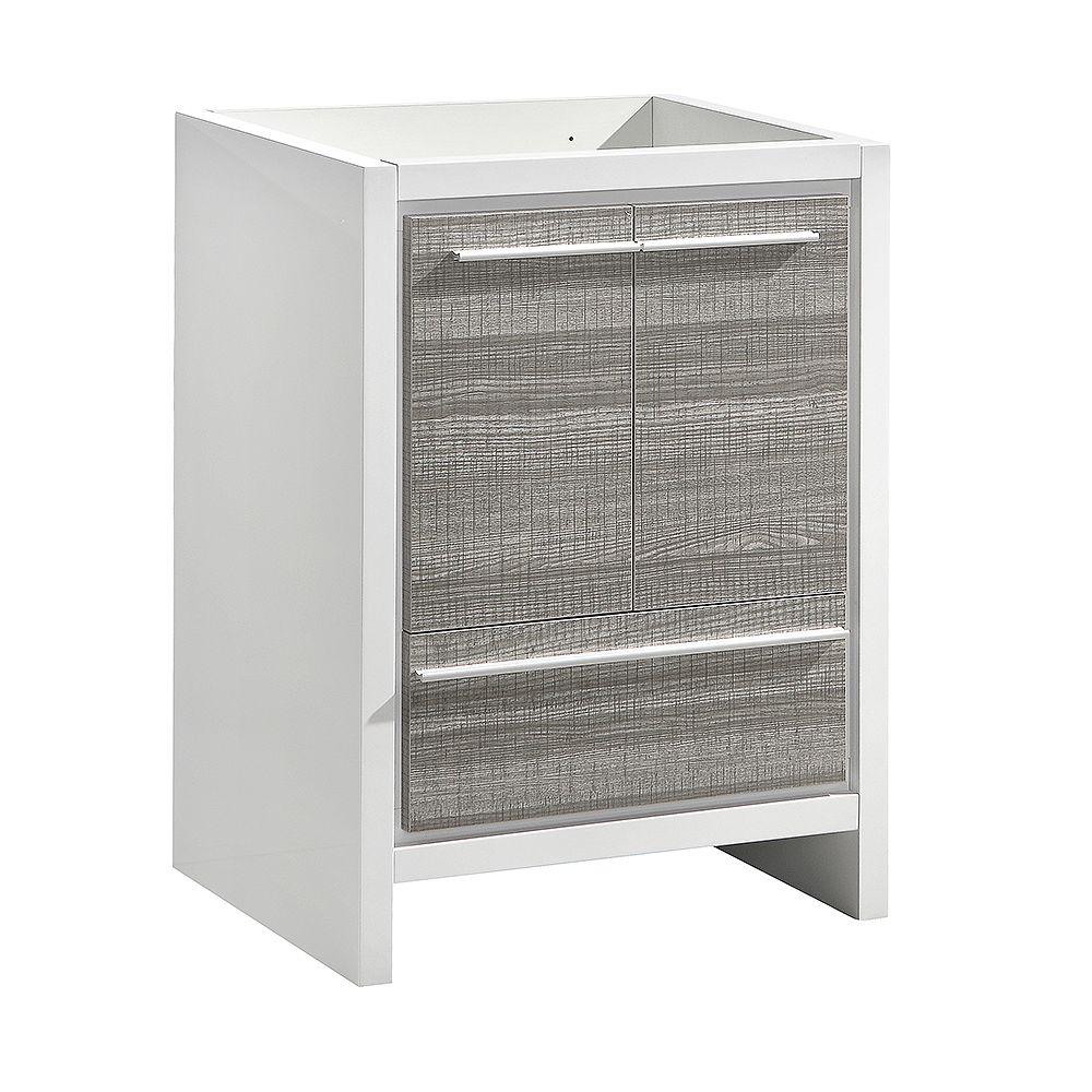 Fresca Allier Rio 29.5 inch Ash Gray Modern Bathroom Cabinet Only