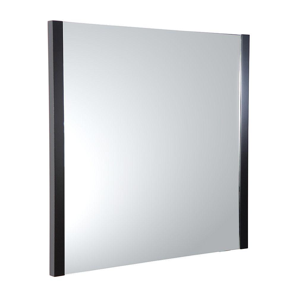 Fresca Torino 31.50 in. W x 31.50 in. H Side Framed Wall Mirror in Espresso