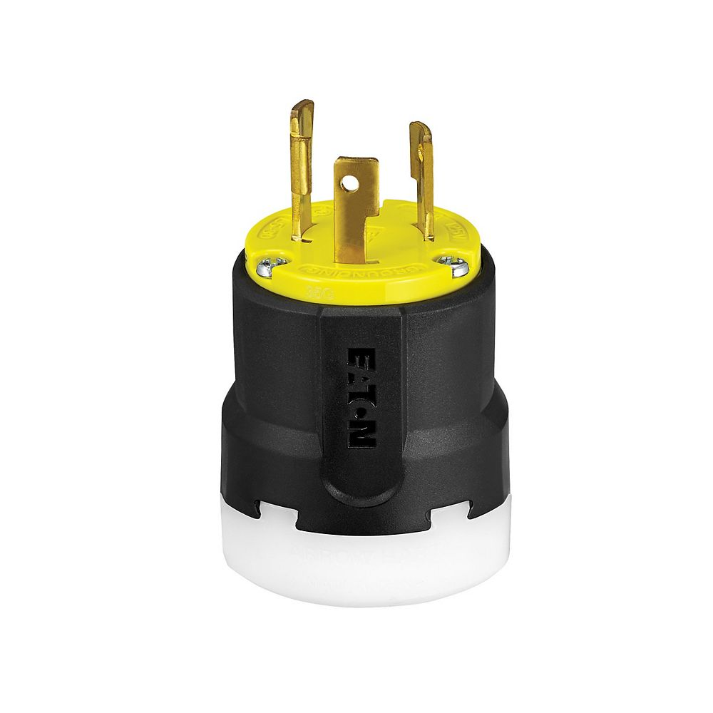 Eaton Color Coded Locking  30a 125v 2p3w Yellow _Black