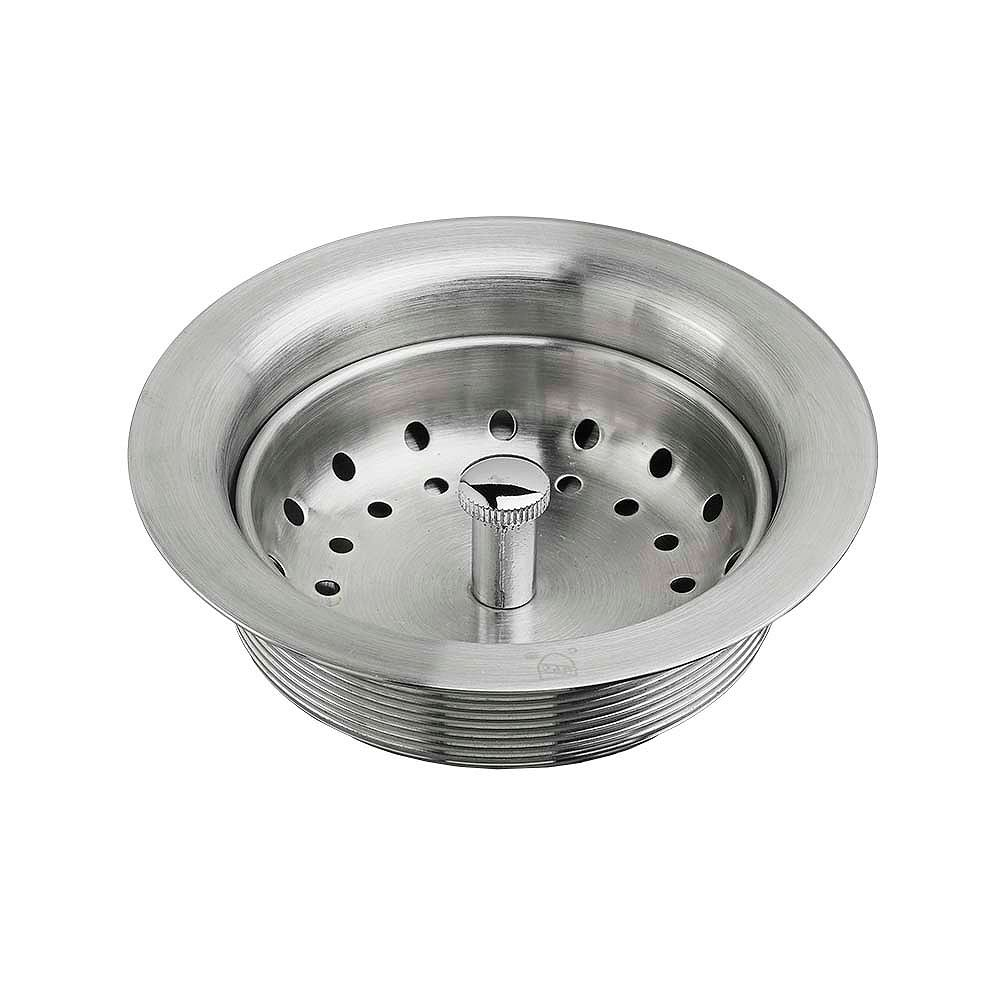 American Standard Kitchen Sink Drain with Strainer in Stainless Steel