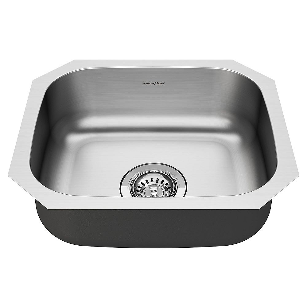American Standard Portsmouth 18x16-inch ADA Single Bowl Stainless Steel Kitchen Sink