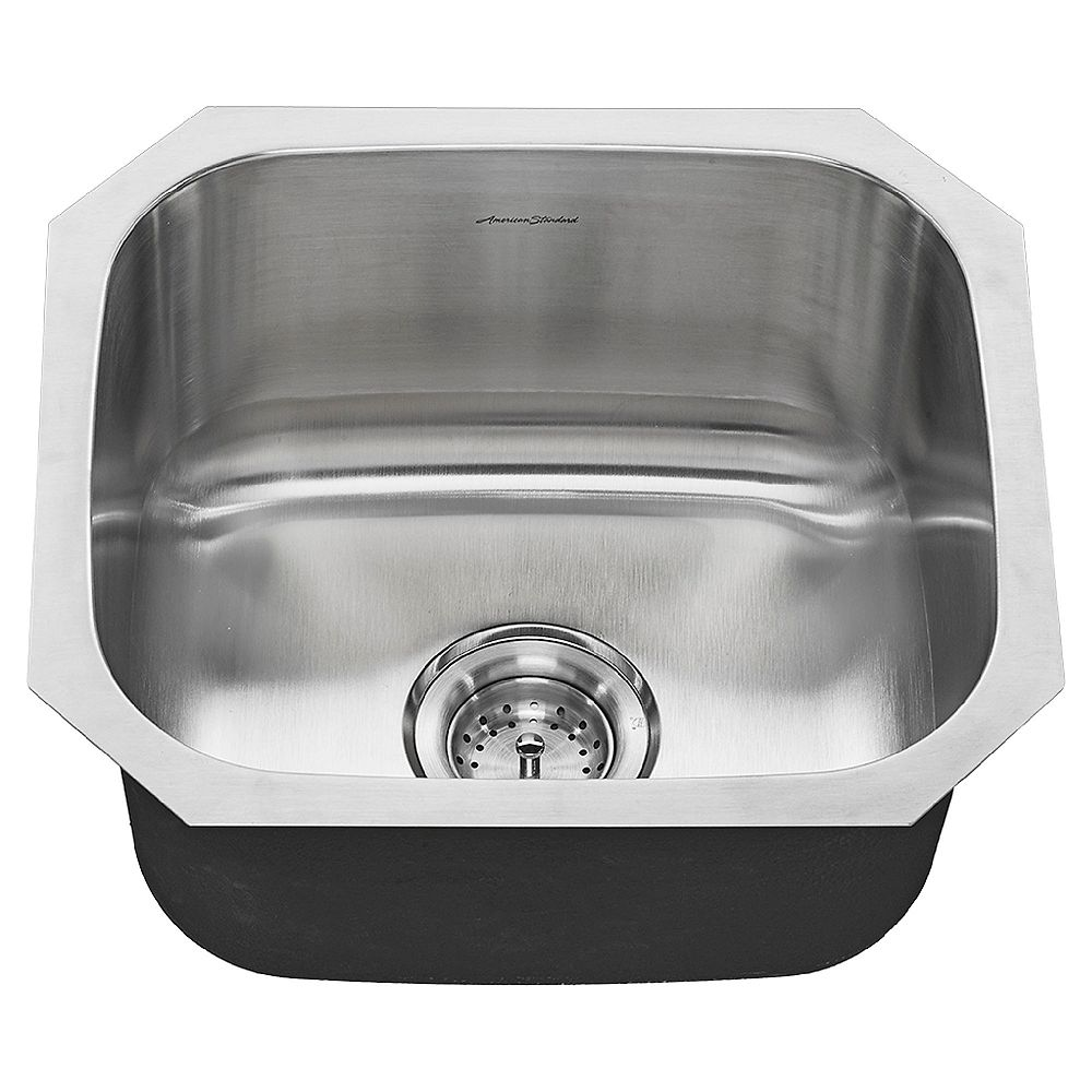American Standard Portsmouth 18X16 Single Bowl Stainless Steel Kitchen Sink