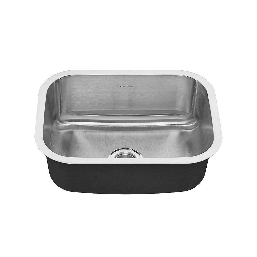 American Standard Portsmouth 23X18 Single Bowl Stainless Steel Kitchen Sink