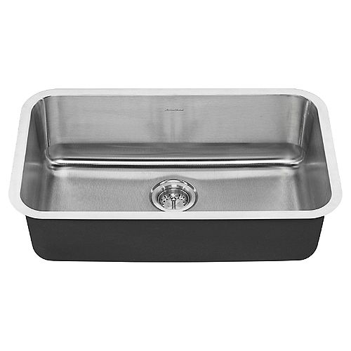 Portsmouth 30X18 Single Bowl Stainless Steel Kitchen Sink